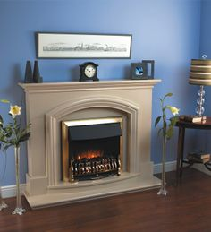 Buy The Flamerite Opera Electric Fireplace Suite from Direct Fireplaces with FREE UK delivery. Electric Fireplace Suites, Electric Fires, Fireplace Hearth, Cosy, Opera, Pictures, Picture Ideas, Home Decor, Amazing