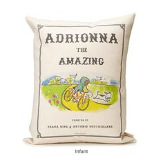 UncommonGoods: personalized storybook pillow - amazing... for $120 #uncommongoods