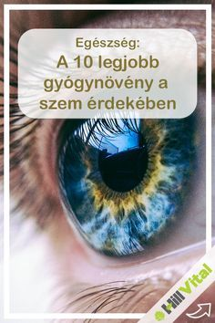Szemvidítófű: Rendkívüli gyógynövény a szemre, nagyban javítja a szem egészségét. A virágai hasonlítanak a szemre, ezért is szokták azt mondani, hogy az a gyógynövény arra a szervre való amilyen alakja van. Segít enyhíteni a vörösséget és a viszketést amelyek a kötőhártya gyulladásnak a jelei. Egyes tanulmányok szerint a betegek több mint 80%-nál gyógyulást jelenthet.