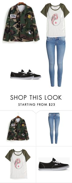 """""""Untitled #263"""" by seetherfan17 ❤ liked on Polyvore featuring H&M, Aéropostale and Vans"""