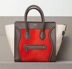 Celine Luggage Tote Winter 2012 Collection...  WANT BADLY!