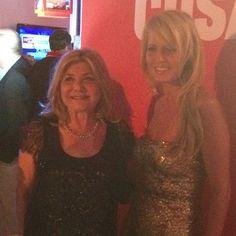 Cecilia Bolocco y nuestra directora Monica Comandari