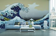 Papier-peint THE WAVE 350x260 cm