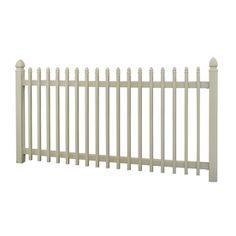 Barrette Select 48-in x 8-ft Desert Sand Gothic Picket Vinyl Fence Panel $81.18