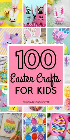 Are you looking for adorable Easter crafts for kids? Here is a collection of over 100 super fun Easter crafts that your kids will just love making. crafts projects Best Adorable Easter Crafts For Kids - This Tiny Blue House Easter Crafts For Toddlers, Bunny Crafts, Easter Projects, Easter Crafts For Kids, Toddler Crafts, Easter With Kids, Craft Projects, Easter Decor, Spring Crafts