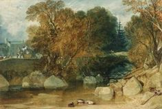 The Ivy Bridge painted by Turner in 1813 (Image: J. M. W. Turner [Public domain], via Wikimedia Commons)