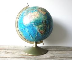 We used to have an old globe.