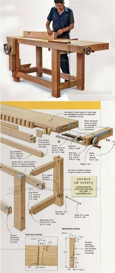 Ultimate Workbench Plans - Workshop Solutions Projects, Tips and Tricks   WoodArchivist.com
