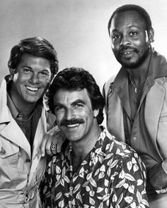 Larry Manetti, Tom Selleck, & Roger E. Mosley - Magnum, P.I.