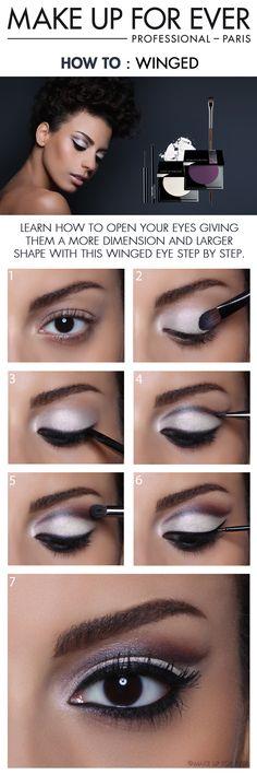Hoe to make a dark eye