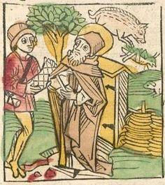 Der altuaeter buoch, [1-2], Bd.: [1] Augsburg, ca. 1488 Ink V-262 - GW M50892  Folio 43