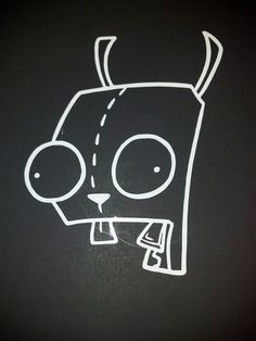Invader Zim GIR Car Vehichle Decal   Choice of by JustAnAwesomeMom, $4.00