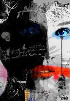 Il mondo di Mary Antony: I dipinti ad inchiostro su carta di Loui Jover