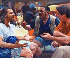 Immortalize the greatest movie ever filmed - but that's just like, our opinion, man - by decorating your home with the Big Lebowski paintings. These incredibly detailed masterpieces depict some of the cult movie's most famous scenes.