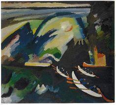 """""""Paseo en barca"""", 1910."""