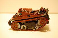 LEGO® Steampunk Crawler (side) by Da Bloomin' Onion, via Flickr