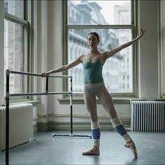 Some days it's definitely a struggle to get myself going in the morning when my body hurts and I'm performing a lot, but taking class always pays off. On those days I try to get inspired by the music and by the other dancers around me. - Isabella Boylston #isabellaboylstonbp @isabellaboylston #890broadway #newyorkcity #ballerinaproject_ #ballerinaproject #ballet #dance #barre