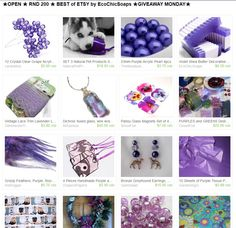 ★OPEN ★ RND 200 ★ BEST of ETSY by EcoChicSoaps ★GIVEAWAY MONDAY★  at  http://www.etsy.com/treasury/MTI4MzMwMjh8MjY4NTU5NzU5Nw/open-rnd-200-best-of-etsy-by