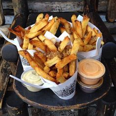 128 MacDougal Street.  Pommes Frites is finally open againafter a gas explosion laid waste to its Second Avenue location 14 months ago. We've b