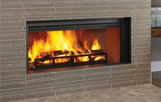 Heatilator proudly presents its first modern linear wood-burning fireplace.