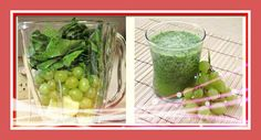 Green #Smoothie with Spinach, Grapes & Apple what is really good for your #health! https://www.facebook.com/YouLoveSmoothies