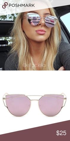 Beautiful Sunglasses Pink! You always see this on Instagram and Blogs. Brand new and high quality. UV Protection. No trade. Accessories Sunglasses