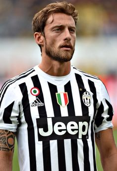 *insert a bunch of heart eye emojis for attractiveness and soccer skills* Claudio Marchisio, Juventus and Italian National Team