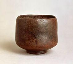 Black Raku tea bowl by Chojiro (1500′s)