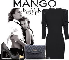 """""""Winter Aesthetic with Mango and That's Chic"""" by biljanadelic ❤ liked on Polyvore"""