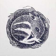 Excited to share the latest addition to my #etsy shop: Eastern Barred Bandicoot Linocut Print / Lino Cut / Australian Marsupial / Australian Animal / Original Artwork / Black and White / Christma #art #printmaking #woodblock #black #white #valentinesday #originalartwork #linocut #bandicoot #ebb