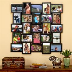 Just bought this for my foyer.  30 bucks of free 4x6 prints from Shutterfly- you've found your home!