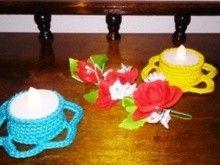 """Teelicht """" little Flori """""""