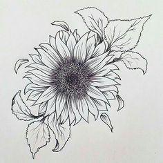 3884105e5708d0d9e73b6c84d5ba5e9a--sunflower-dress-sunflower-outline.jpg (640×640)