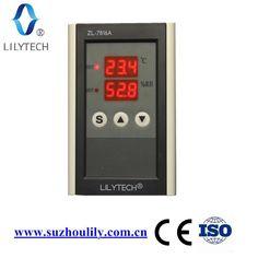 ZL-7816A, 12 V, temperatura e umidità controller per incubatrice, umidità di controllo, incubatore termostato, lilytech, incubatore