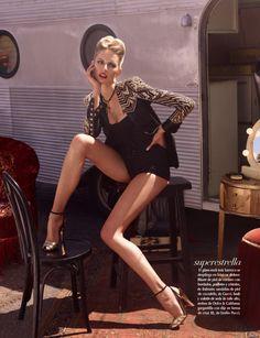 ((Vogue Latin America, June 2012)) Karolina Kurkova by Mariano Vivanco, sexy as ever