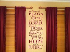 For I Know The Plans I Have For You Declares by designstudiosigns, $37.00