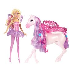Barbie Fairytale Fairy & Pegasus Toys | Kids Cool Toys