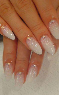 #nailart-glitters, studs and stilleto nails. So posh!
