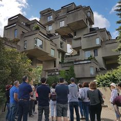 Visit the residential complex imagined by Moshe Safdie for Expo during our 90 minutes Habitat 67 tour in Montréal. Chien Mira, Rue Pietonne, Expo 67, Always Cold, Residential Complex, Historical Landmarks, Le Havre, Private Property, 12 Year Old