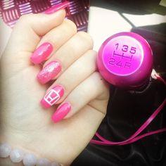My Honda inspired nails!!