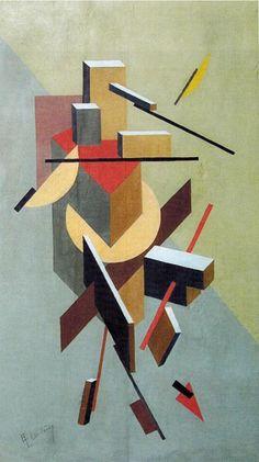 Lissitzky El Proun 1 - El Lissitzky - Monoskop