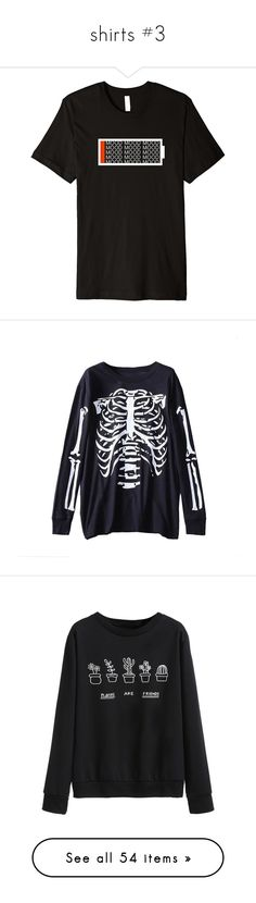 """shirts #3"" by lyonserenity ❤ liked on Polyvore featuring tops, t-shirts, hoodies, sweatshirts, shirts, jumpers, sweaters, band merch, logo sweatshirts and crew-neck shirts"