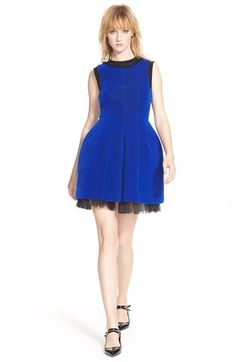 MARC BY MARC JACOBS 'Semona' Velvet Moulded Dress available at #Nordstrom
