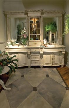 Image detail for -Master Bath Designs - Master Bath - Cabinetry Chic Bathrooms, Dream Bathrooms, Beautiful Bathrooms, Modern Bathroom, Kitchen Photos, Bath Design, Design Bathroom, Bath Remodel, Bathroom Interior