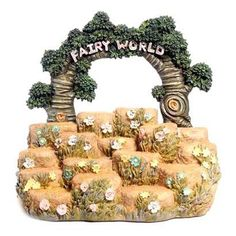 Cute Fairy Garden Tiered Display Stand Listing in the Fantasy, Myth & Magic,Collectables Category on eBid United Kingdom | 151531823