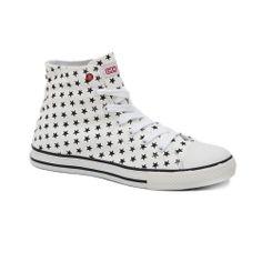 Πάνινα sneakers I-Conv.Η ενισχυμένη σόλα και ο μαλακός πάτος το καυιστούν σταθερόάνετο σε κάθε βήμα.Ιδανικό για άνετες και μοντέρνες εμφανίσεις. Converse Chuck Taylor High, Converse High, High Top Sneakers, Shoes 2014, Chuck Taylors High Top, High Tops, Kids, Fashion, Young Children