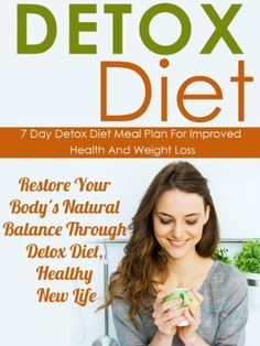 Detox Diet: 7 Day Detox Diet Meal Plan For Improved Health And Weight Loss-Restore Your Body's Natural Balance Through Detox Diet, Healthy New Life (Detox ... Loss, Detox Diet Recipes, Detox Diet Menu) by Stephanie Adams, http://www.amazon.com/dp/B00HVG2Y1O/ref=cm_sw_r_pi_dp_ijA3sb19T6WBZ
