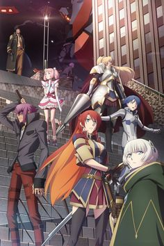 Spring 2017, Re:Creators: The anime I didn't know I wanted so much. From the author of Black Lagoon.