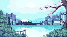 gif aesthetic pixel art - This thoughts was include at by gif aesthetic pixel art Downloa Aesthetic Gif, Aesthetic Wallpapers, Pixel Art Gif, Orange Pastel, Pixel Art Background, Art Blue, Anime Gifs, Pixel Animation, 8 Bit Art