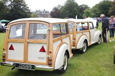Lucie the Morris Traveller Custom Trailers, Rv Trailers, Vintage Caravans, Vintage Trailers, Morris Traveller, Camper Caravan, Morris Minor, Car Trailer, Smart Car